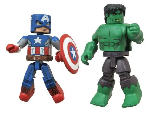 MARVEL SUPER HERO SPECTACULAR - Captain America and Hulk