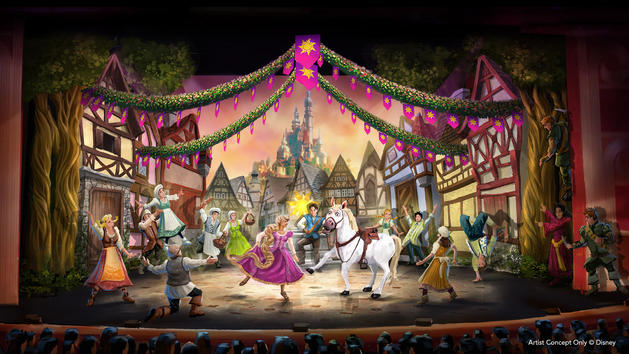 tangled-show
