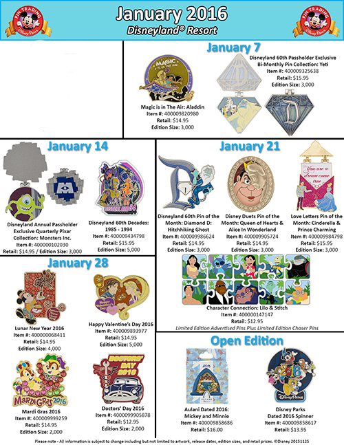 Disney Pins (1)