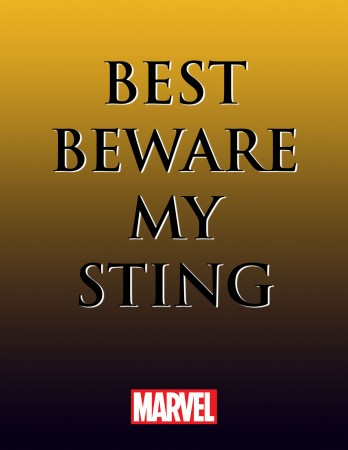 BEST BEWARE MY STING