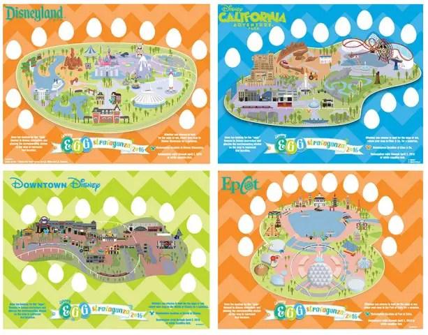 Egg Hunt Disney Parks