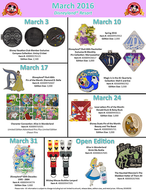 Disney Parks Pins_March (1)