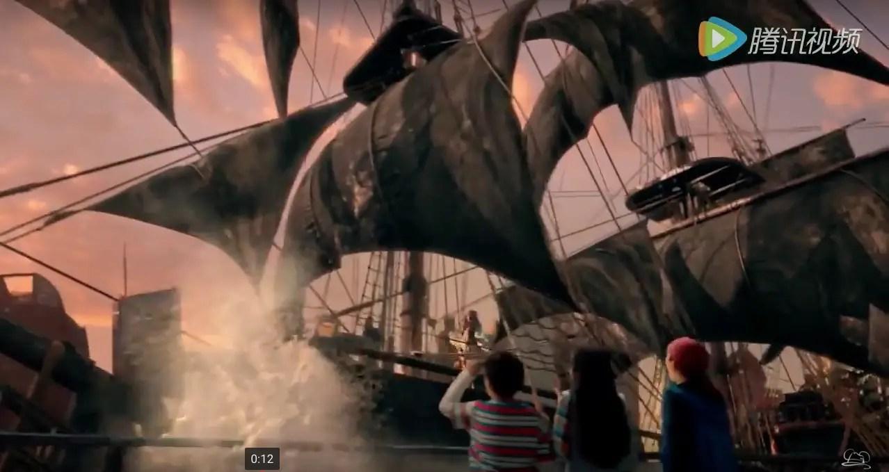 Shanghai Disney Resort Debut TV Commercial