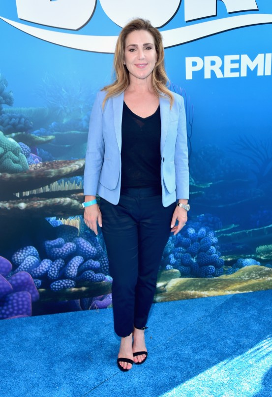 HOLLYWOOD, CA - JUNE 08: Actress Peri Gilpin attends The World Premiere of Disney-Pixar's FINDING DORY on Wednesday, June 8, 2016 in Hollywood, California. (Photo by Alberto E. Rodriguez/Getty Images for Disney) *** Local Caption *** Peri Gilpin