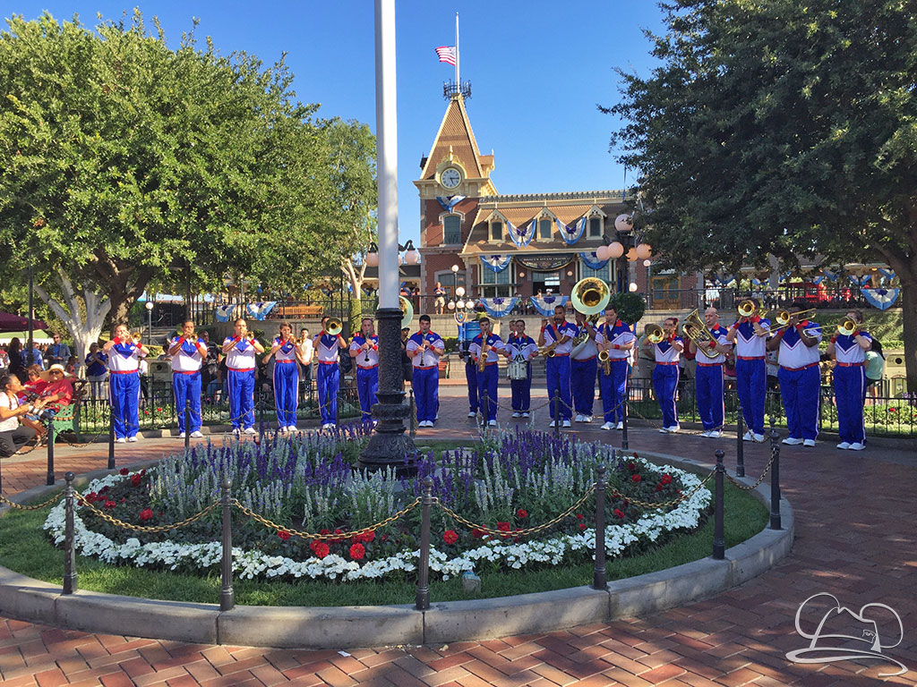 Disneyland Resort 2016 All-American College Band