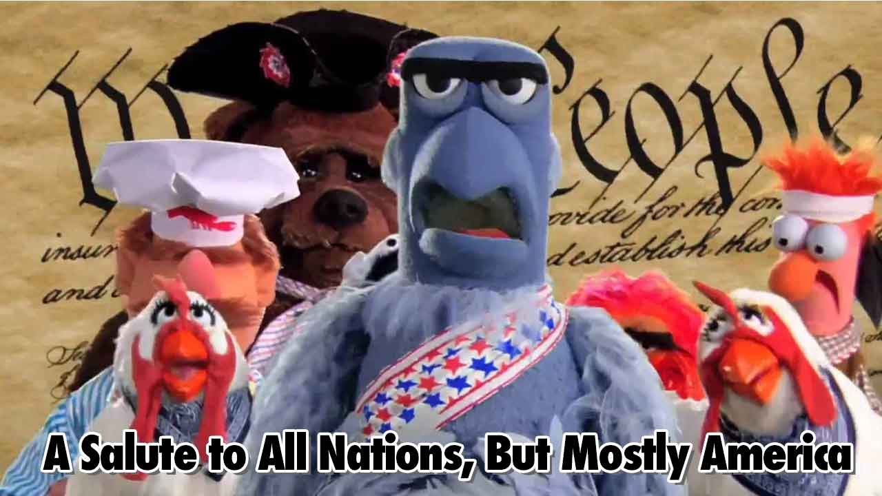 All Salute To All Nations, But Mostly America- Geeks Corner - Episode 539