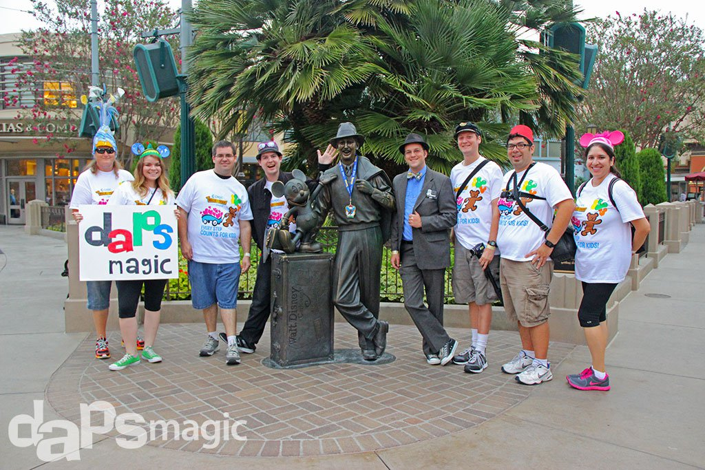 Team DAPs Magic - 2015 CHOC Walk