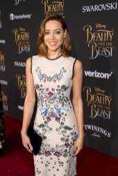 "LOS ANGELES, CA - MARCH 02: Actress Aubrey Plaza arrives for the world premiere of Disney's live-action ""Beauty and the Beast"" at the El Capitan Theatre in Hollywood as the cast and filmmakers continue their worldwide publicity tour on March 2, 2017 in Los Angeles, California. (Photo by Jesse Grant/Getty Images for Disney) *** Local Caption *** Aubrey Plaza"