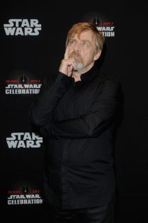 ORLANDO, FL - APRIL 14: Mark Hamill attends the STAR WARS: THE LAST JEDI PANEL during the 2017 STAR WARS CELEBRATION at Orange County Convention Center on April 14, 2017 in Orlando, Florida. (Photo by Gerardo Mora/Getty Images for Disney) *** Local Caption *** Mark Hamill