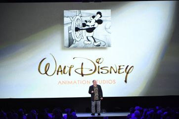 D23 EXPO 2017 - Friday, July 14, 2017 - The Ultimate Disney Fan Event - brings together all the worlds of Disney under one roof for three packed days of presentations, pavilions, experiences, concerts, sneak peeks, shopping, and more. The event, which takes place July 14-16 at the Anaheim Convention Center, provides fans with unprecedented access to Disney films, television, games, theme parks, and celebrities. (Disney/Image Group LA) JOHN LASSETER (CHIEF CREATIVE OFFICER, PIXAR AND WALT DISNEY ANIMATIONS STUDIOS)