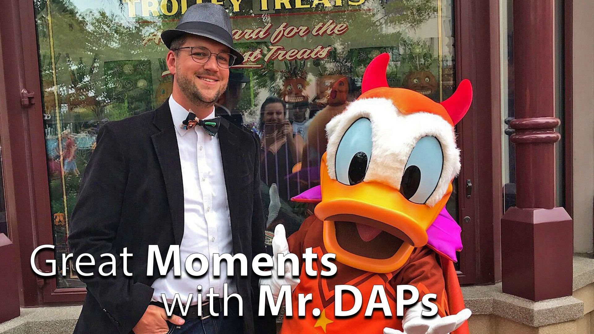 SCAREolers, EPCOT, THOR, and more! - Great Moments with Mr. DAPs
