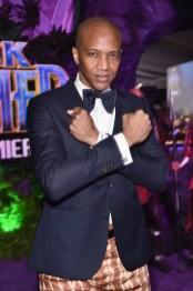 HOLLYWOOD, CA - JANUARY 29: Actor J. August Richards at the Los Angeles World Premiere of Marvel Studios' BLACK PANTHER at Dolby Theatre on January 29, 2018 in Hollywood, California. (Photo by Alberto E. Rodriguez/Getty Images for Disney) *** Local Caption *** J. August Richards