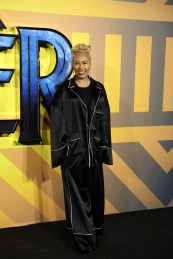 """LONDON, ENGLAND - FEBRUARY 08: Emeli Sandé attend the European Premiere of Marvel Studios' """"Black Panther"""" at the Eventim Apollo, Hammersmith on February 8, 2018 in London, England. (Photo by Gareth Cattermole/Getty Images for Disney) *** Local Caption *** Emeli Sandé"""