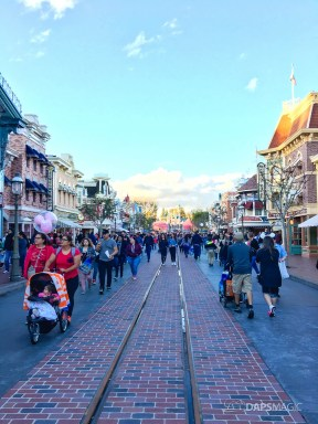 Walls Come Down on Main Street at Disneyland-2