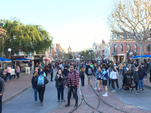 Walls Come Down on Main Street at Disneyland-5