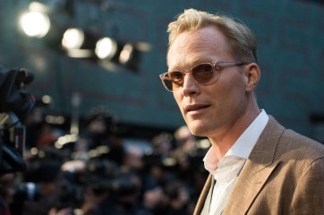 LONDON, ENGLAND - APRIL 08: Paul Bettany attends the UK Fan Event to celebrate the release of Marvel Studios' 'Avengers: Infinity War' at The London Television Centre on April 8, 2018 in London, England. (Photo by Gareth Cattermole/Gareth Cattermole/Getty Images for Disney)
