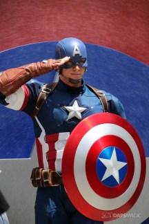 Captain America New Uniform at Disneyland-6