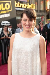 "Phoebe Waller-Bridge attends the world premiere of ""Solo: A Star Wars Story"" in Hollywood on May 10, 2018. (Photo: Alex J. Berliner/ABImages)"