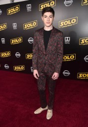 HOLLYWOOD, CA - MAY 10: Mason Cook attends the world premiere of ìSolo: A Star Wars Storyî in Hollywood on May 10, 2018. (Photo by Alberto E. Rodriguez/Getty Images for Disney) *** Local Caption *** Mason Cook
