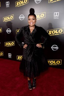 HOLLYWOOD, CA - MAY 10: Yvette Nicole Brown attends the world premiere of ìSolo: A Star Wars Storyî in Hollywood on May 10, 2018. (Photo by Alberto E. Rodriguez/Getty Images for Disney) *** Local Caption *** Yvette Nicole Brown