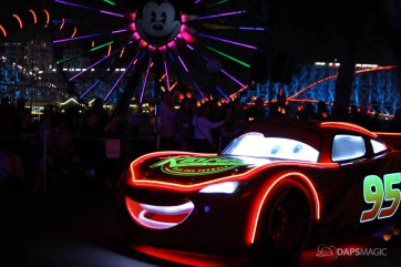 Pixar Pier Media Event - Paint the Night with Incredibles Float-19