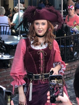 Redd the Pirate in New Orleans Square at Disneyland-7