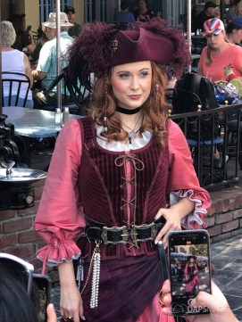 Redd the Pirate in New Orleans Square at Disneyland-8
