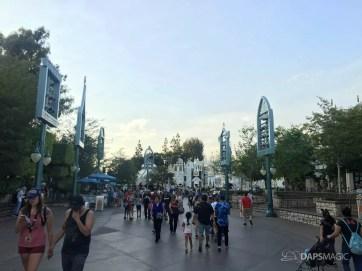 114 Degree Day at the Disneyland Resort