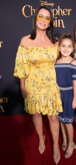 """Kyle Richards and Portia Umansky attend the world premiere of Disney's """"Christopher Robin"""" at the Main Theater on the Walt Disney Studios lot in Burbank, CA on July 30, 2018. (Photo: Alex J. Berliner/ABImages)"""