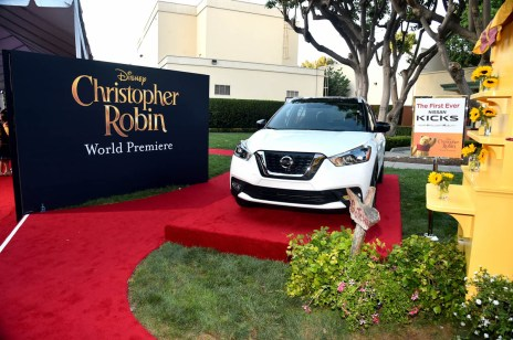 BURBANK, CA - JULY 30: A view of the atmosphere at the world premiere of Disney's 'Christopher Robin' at the Main Theater on the Walt Disney Studios lot in Burbank, CA on July 30, 2018. (Photo by Alberto E. Rodriguez/Getty Images for Disney)