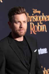 """Ewan McGregor attends the world premiere of Disney's """"Christopher Robin"""" at the Main Theater on the Walt Disney Studios lot in Burbank, CA on July 30, 2018. (Photo: Alex J. Berliner/ABImages)"""