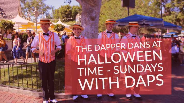 The Dapper Dans at Halloween Time - Sundays with DAPs