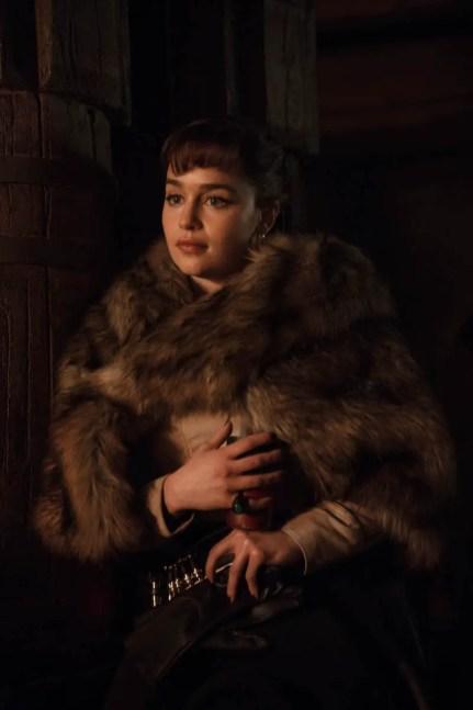 Emilia Clarke is Qi'ra in SOLO: A STAR WARS STORY.