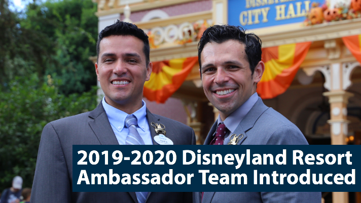 2019-2020 Disneyland Resort Ambassador Team Introduced