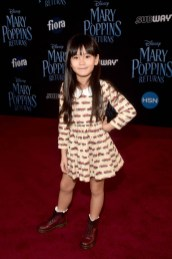 HOLLYWOOD, CA - NOVEMBER 29: Zooey Miyoshi attends Disney's 'Mary Poppins Returns' World Premiere at the Dolby Theatre on November 29, 2018 in Hollywood, California. (Photo by Alberto E. Rodriguez/Getty Images for Disney) *** Local Caption *** Zooey Miyoshi