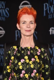 HOLLYWOOD, CA - NOVEMBER 29: Costume Designer Sandy Powell attends Disney's 'Mary Poppins Returns' World Premiere at the Dolby Theatre on November 29, 2018 in Hollywood, California. (Photo by Alberto E. Rodriguez/Getty Images for Disney) *** Local Caption *** Sandy Powell