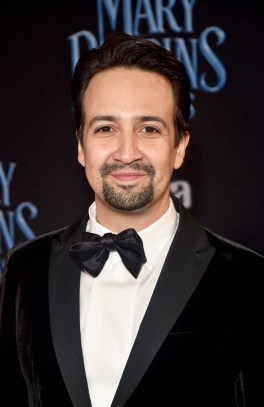 HOLLYWOOD, CA - NOVEMBER 29: Actor Lin-Manuel Miranda attends Disney's 'Mary Poppins Returns' World Premiere at the Dolby Theatre on November 29, 2018 in Hollywood, California. (Photo by Alberto E. Rodriguez/Getty Images for Disney) *** Local Caption *** Lin-Manuel Miranda
