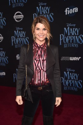 HOLLYWOOD, CA - NOVEMBER 29: Lori Loughlin attends Disney's 'Mary Poppins Returns' World Premiere at the Dolby Theatre on November 29, 2018 in Hollywood, California. (Photo by Alberto E. Rodriguez/Getty Images for Disney) *** Local Caption *** Lori Loughlin
