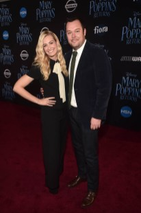 HOLLYWOOD, CA - NOVEMBER 29: Beth Behrs (L) and Michael Gladis attend Disney's 'Mary Poppins Returns' World Premiere at the Dolby Theatre on November 29, 2018 in Hollywood, California. (Photo by Alberto E. Rodriguez/Getty Images for Disney) *** Local Caption *** Beth Behrs; Michael Gladis