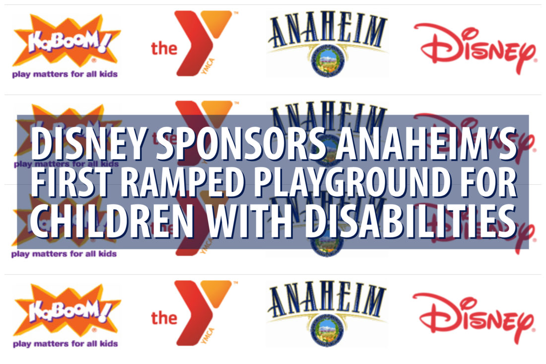 Disney Sponsors Anaheim's First Ramped Playground for Children with Disabilities