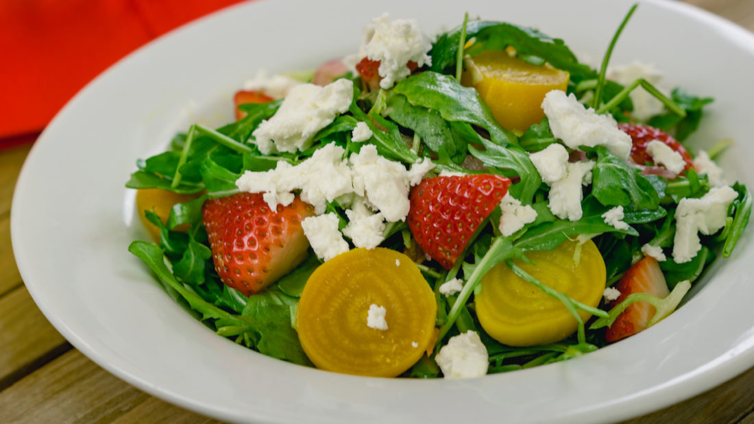 Strawberry Beet Salad