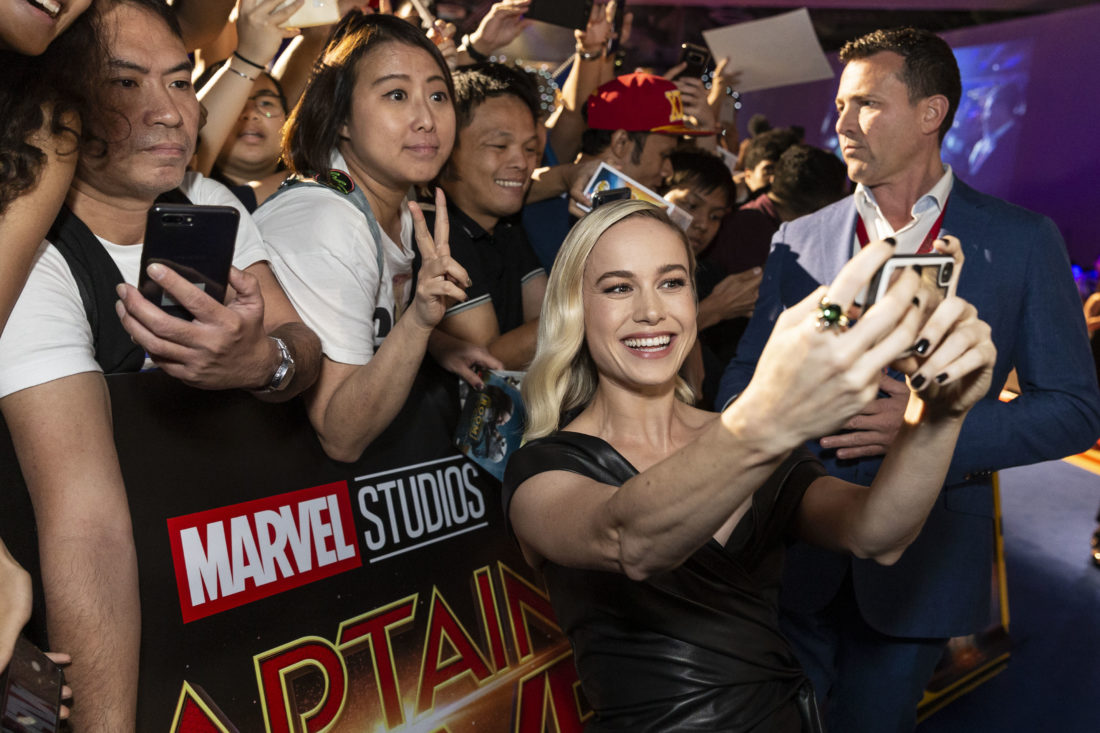 "Singapore Fans Get a Special Treat as the Cast of Marvel Studio's ""Captain Marvel"" Appear For Exclusive Fan Event"