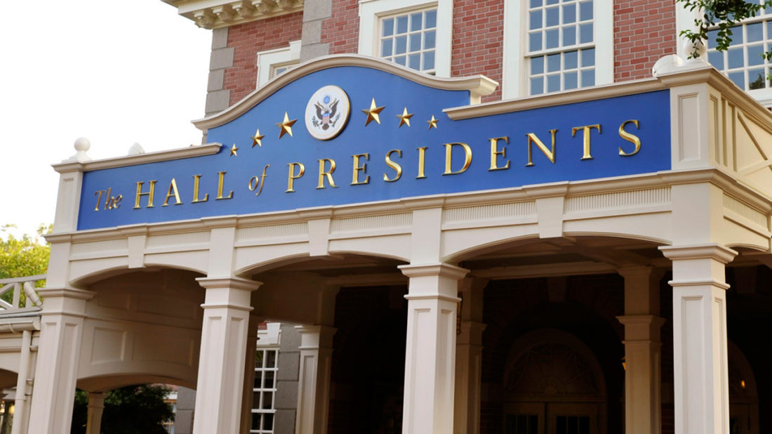 Celebrating President's Day With the History of Walt Disney World's Hall of Presidents