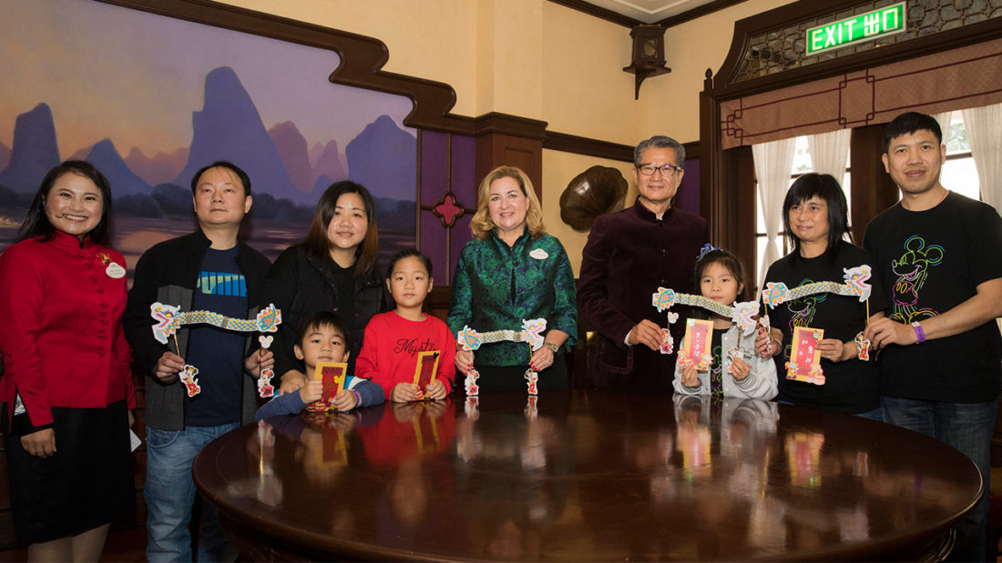 "Hong Kong Disneyland Encourages Families to Volunteer and ""Give a Day, Get a Disney Day"""