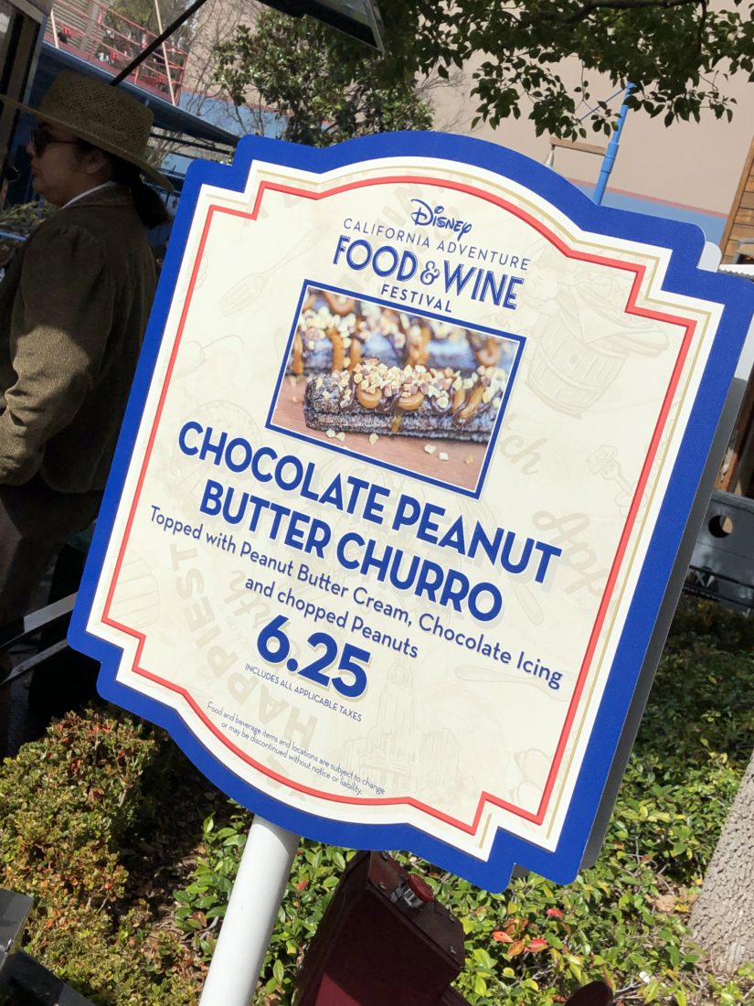 Hidden Food Items of the Disney California Adventure Food and Wine Festival - And What is Sip and Savor Eligible
