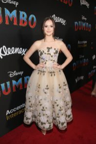 """LOS ANGELES, CA - MARCH 11: Olivia Sanabia attends the World Premiere of Disney's """"Dumbo"""" at the El Capitan Theatre on March 11, 2019 in Los Angeles, California. (Photo by Jesse Grant/Getty Images for Disney) *** Local Caption *** Olivia Sanabia"""
