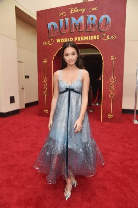 """LOS ANGELES, CA - MARCH 11: Lily Chee attends the World Premiere of Disney's """"Dumbo"""" at the El Capitan Theatre on March 11, 2019 in Los Angeles, California. (Photo by Alberto E. Rodriguez/Getty Images for Disney) *** Local Caption *** Lily Chee"""