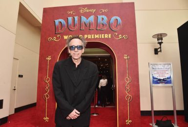 "LOS ANGELES, CA - MARCH 11: Director/executive producer Tim Burton attends the World Premiere of Disney's ""Dumbo"" at the El Capitan Theatre on March 11, 2019 in Los Angeles, California. (Photo by Alberto E. Rodriguez/Getty Images for Disney) *** Local Caption *** Tim Burton"