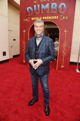 """LOS ANGELES, CA - MARCH 11: Michael Buffer attends the World Premiere of Disney's """"Dumbo"""" at the El Capitan Theatre on March 11, 2019 in Los Angeles, California. (Photo by Alberto E. Rodriguez/Getty Images for Disney) *** Local Caption *** Michael Buffer"""