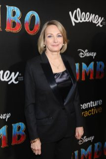 """LOS ANGELES, CA - MARCH 11: Producer Katterli Frauenfelder attends the World Premiere of Disney's """"Dumbo"""" at the El Capitan Theatre on March 11, 2019 in Los Angeles, California. (Photo by Jesse Grant/Getty Images for Disney) *** Local Caption *** Katterli Frauenfelder"""